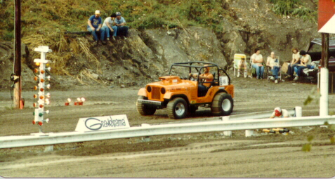 ORANGE CRATE AT GRAVELRAMA APPROX 1980